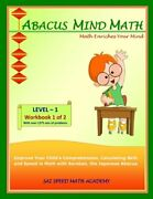 Abacus Mind Math Level 1 Workbook 1 Of 2 Excel At Mind Math With Soroban, A Ja