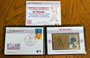 Ted Williams Boston Red Sox Commemorative Gold Stamp 203