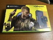 Free Shipping New Unopened Xbox One X Cyberpunk 2077 Limited Edition Brand N