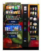Five Seaga Hy2100-9 Vending Machines And Two Hmt900 Side Entrandeacutee Units For Sale