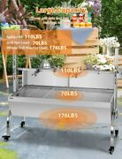49'' Large Spit Roaster Rotisserie Pig Lamb Roast Bbq Portable Outdoor Grill