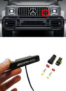 Front Grille Led Badge Made For Mercedes G63 G Wagon W463a W464 G-class 1 Pc