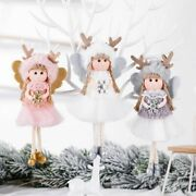 Christmas Tree Hanging Ornaments Angel Girl Dolls Pendant Decorations Gift Toys
