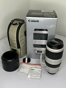 Canon Ef 100-400mm F/4.5-5.6l Is Ii Usm Lens - Excellent Condition