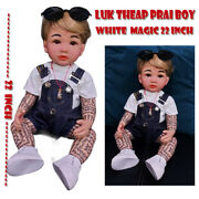 Thai Amulet Charming Doll Boy Luk Thep 22 Call Money Metta Protection By Aj Mad