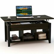 Tribesigns Lift Top Coffee Table With Hidden Storage And Lower Shelf Living Room