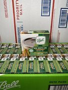 Bulk Lot Of 40 Boxes 480 Lids Ball Wide Mouth Mason Jar Lids For Canning