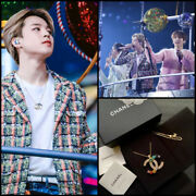 Rainbow Crystal Necklace Bts Jimin Wearing Good Condition