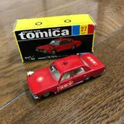 Tomica Made In Japan Crown Fire Chief Car Black Box
