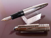 Mont Blanc Solitaire Stainless Steel Legrand Fountain Pen