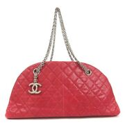 Mademoi Chain Shoulder Bag Women And039s Red Razor Previously No.5395