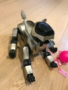 Sony Aibo Ers-210 In Gold Color Some Issues, Read Description