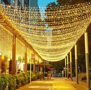 Led Fairy Lights 10m-100m String Garland Christmas New Year Party Decorations