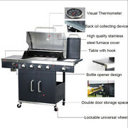 Brand New Multifunctional Courtyard Outdoor Bbq Oven Gas Bbq Grill 27.5x16.5
