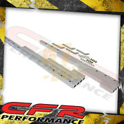 Ball Milled Chrome Billet Aluminum Wire Loom Set - For Chevy Ford