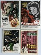 Lot Of 4 Spanish Herald Posters