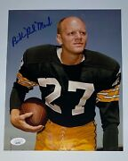 Bill Red Mack Autographed Color 8x10 Photo Green Bay Jsa