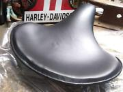 Nos Harley 52004-25 New Knucklehead Panhead Police Solo Seat Leather Usa Factory