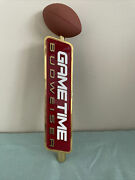 Budweiser Game Time Foot Ball Beer Tap Handle