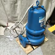 Goulds 3 Hp Sewage Ejector Pump Discharge 3 In 460v 3ph Ws3034d3