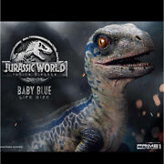 1/1 Jurassic World Baby Blue Life Size Statue Prime One