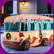 4 Ft. Pre-lit Led National Lampoon's Christmas Vacation Rv With Light String