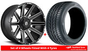 Alloy Wheels And Tyres 20 Fuel Contra D616 For Toyota Land Cruiser 98-07