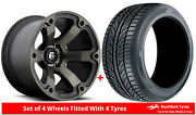 Alloy Wheels And Tyres 20 Fuel Beast D564 For Jeep Gladiator 20-20