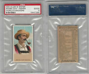 N33 Allen And Ginter Worlds Smokers 1888 Swiss Cow-keeper Psa 2 Good