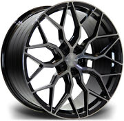 Alloy Wheels Wider Rears 21 Riviera Rf108 For Bmw 7 Series [g12] 15-21