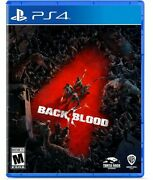 Back 4 Blood - Sony Playstation 4 / Ps4 Brand New Factory Sealed