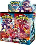 Pokemon Battle Styles Booster Box - Brand New - Factory Sealed - In Stock