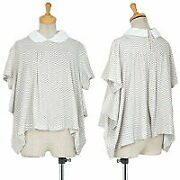 Tricot Comme Des Garcons Bias Check Wide Silhouette Back Opening Short No.8786