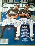 Sports Illustrated March 2012 Jose Reyes And Ozzie Guillen Signed Cover