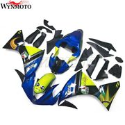 Motorcycle Injection Fairings For Yamaha Yzf R1 Yzfr1 2009 10 2011 Blue Bodywork