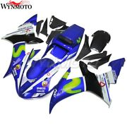 Motorcycle Blue Fairing Kit For Yamaha Yzf R1 Yzfr1 2002 2003 Injection Bodywork