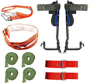 Twsoul Tree Climbing Spikes With Harness Belt 304 Stainless Steel Tree Climbing