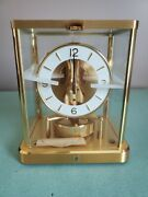 Vintage Jaeger Lecoultre Atmos Clock Model 540 Never Started Mint Condition