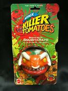 Vintage 1991 Attack Of The Killer Tomatoes Beefsteak Squirtamato Moc Mad Balls