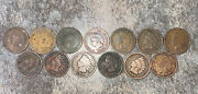 13 Indian Head Pennies 1865+ Late 1800andrsquos Early 1900andrsquos See Photos Ask Questions