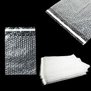 Packagezoom Bubble Pouch Out Bags | Clear 9 X 12 Inch Self Sealing Bubble Cus...
