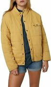 Oand039neill Womenand039s Quilted Button Front Jacket