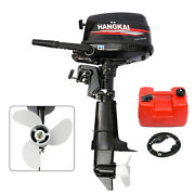 6.5hp 4 Stroke Outboard Motor Boat Engine Water Cooling Cdi System Short Shaft