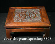 12 Rare China Huanghuali Wood Dynasty Dragon Beast Table Desk Antique Furniture