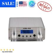 Proven 15w Fm Stereo Pll Broadcast Transmitter Exciter 88mhz-108mhz Power Source