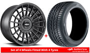 Alloy Wheels And Tyres 19 Rotiform Las-r For Mini Paceman [r61] 12-16