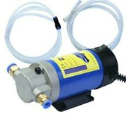 Portable 12v Oil Transfer Pump 1-4l/min Extractor Fluid Suction Electric Change