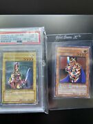 Yugioh Ultimate Rare 1st Ed Queens Knight Een-en004 Psa 10 And Kings Knight M/nm