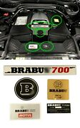 Brabus 700 Style Engine Emblems Set 5pcs Fit Mercedes Benz G63 G Wagon And Other