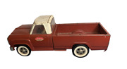 Vintage Tonka Toy Pickup Truck Red 11060 14 White Wall Tires Moving Tailgate